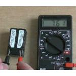 Как проверить работоспособность аккумулятор мультиметром