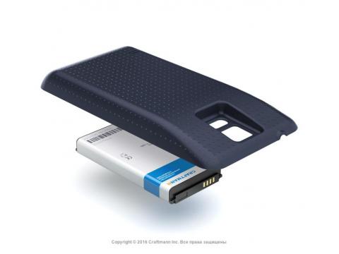 Аккумулятор повышенной емкости для Samsung Galaxy S5 (SM-G900H) в комплекте с крышкой черного цвета