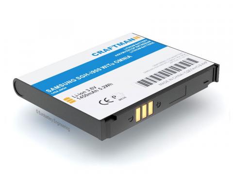 Аккумулятор для Samsung i900 WiTu (AB653850CU, AB653850CE)