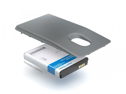 Аккумулятор повышенной емкости для Samsung GT-i9250 Google Galaxy Nexus в комплекте с крышкой