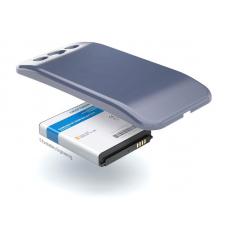 Аккумулятор повышенной емкости для Samsung Galaxy S3 Neo (GT-i9301i) в комплекте с крышкой синего цвета