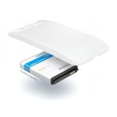 Аккумулятор повышенной емкости для Samsung Galaxy S3 Neo (GT-i9301i) в комплекте с крышкой белого цвета