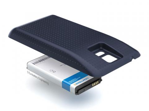 Аккумулятор повышенной емкости для Samsung Galaxy S5 (SM-G900F) в комплекте с крышкой черного цвета