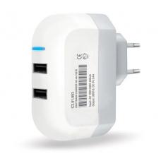Универсальное сетевое зарядное устройство Craftmann 3.4A (2 USB порта)