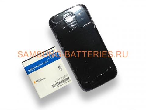 Аккумулятор повышенной емкости для Samsung Galaxy S4 (GT-i9500) в комплекте с крышкой черного цвета