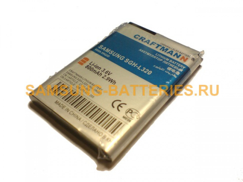 Аккумулятор для Samsung L320 (AB503445BE)